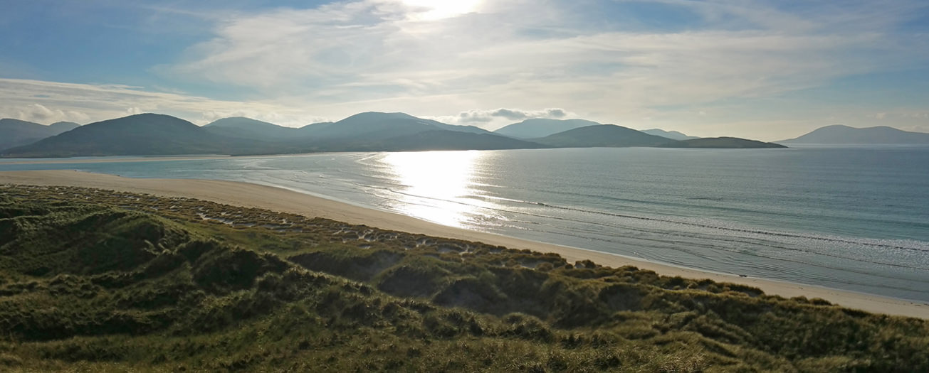 Luskentyre beach and dunes