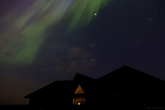 Aurora over lodge1310