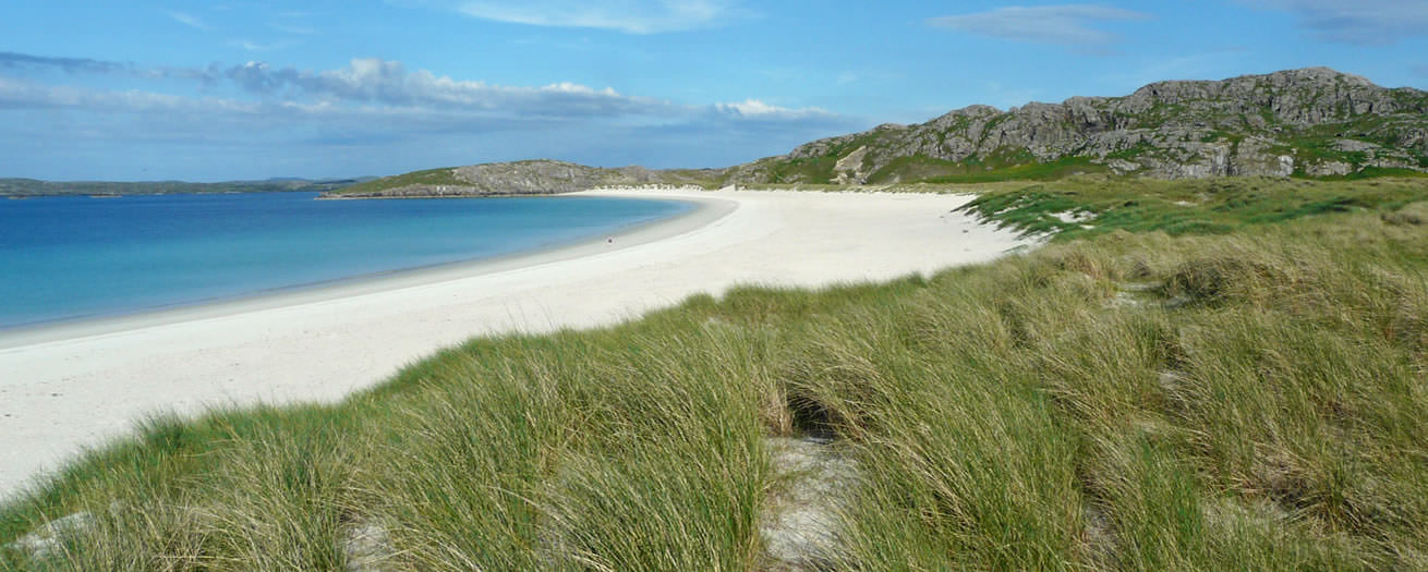Riof beach in Uig area of Isle of Lewis, Outer Hebrides, Scotland